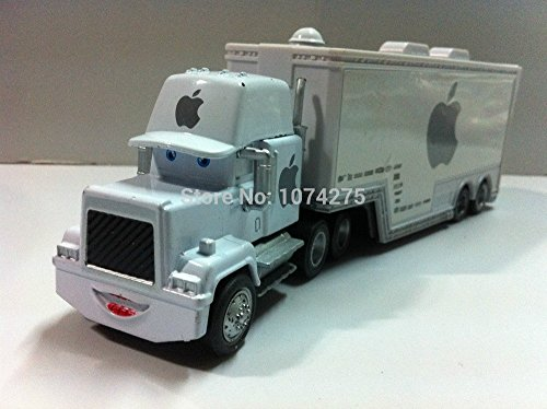 Sally From Cars Costume (Car Toys Pixar 1:55 Scale Diecast Mack White Apple Racer's Hauler Truck Toy and Car Collectors)