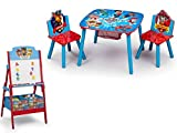 Crib Changing Table and Dresser 3 Pc Set NEW! Paw Patrol Activity Table Set and Delta Children Paw Patrol Activity Easel with Toy Storage Bins