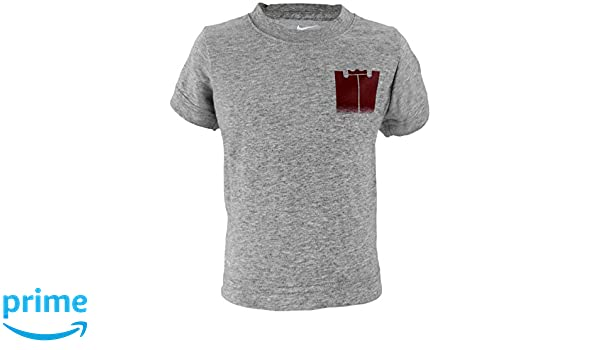 723cfa21b Amazon.com: Nike Toddler Boys Dri-Fit Athletic Cut Lebron James Monogram  Tee Shirt - Grey (2T): Clothing