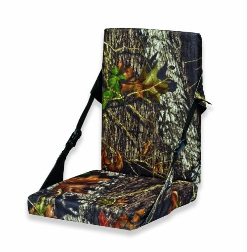 Lowest Prices! Mossy Oak Heat Seat with Back (Break-Up)