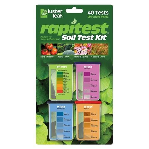 Gardening & Lawn Care: Rapitest pH Soil Test Kit
