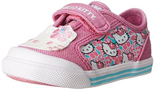 Keds Glittery Kitty CB Flat (Infant/Toddler),Light Pink Hibiscus,3 M US Infant