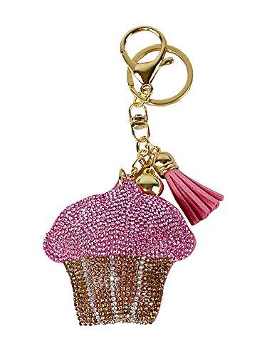 one Key Chain with Padded Felt Backing (Padded Pink Felt)