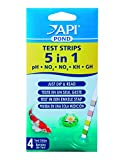 API - 5 in 1 Pond Water Test Strips - 4 Pack