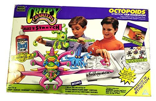 - Creepy Crawlers Vintage Make 'n Stretch Octopoids Mold Set -1994