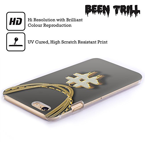 Official Been Trill Hashtag Gold Bling Blings Hard Back Case for Apple iPhone 3G / 3GS