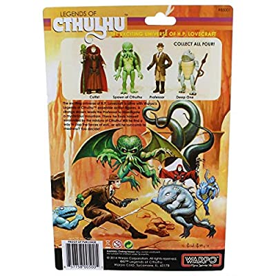 Warpo Toys Legends of Cthulhu Cultist Retro Action Figure: Toys & Games