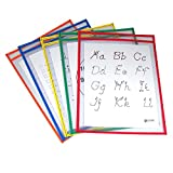 C-LINE PRODUCTS INC REUSABLE DRY ERASE POCKETS 25/BOX (Set of 3)