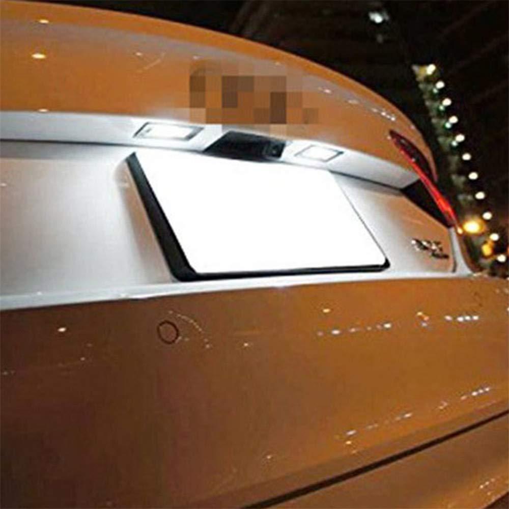 GD 2013 2014 2015 Juego de 2 luces LED para matr/ícula de coche Canbus 18 SMD para I30 GZLMMY