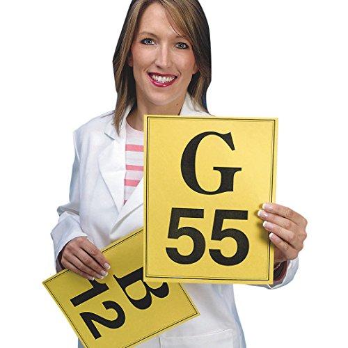 Bingo Calling Cards, Yellow by S&S Worldwide