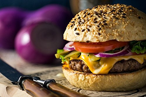 22 Half Pound Gourmet Juicy Steak Burgers - Chicago Steak Company - PS2 by Chicago Steak Company