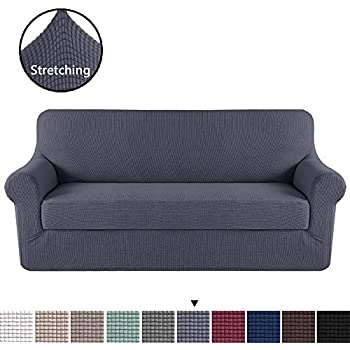 Amazon.com: Raylans Extensible Seat Chair Covers Couch ...