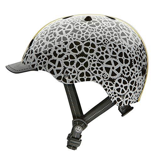 (Nutcase - Patterned Street Bike Helmet for Adults, Stay Geared, Large)
