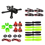 LHI 220 Quadcopter Kit Full Carbon Frame Kit+DX2205 2300KV Brushless Motor+ Littlebee 20A Mini ESC+5045 propeller