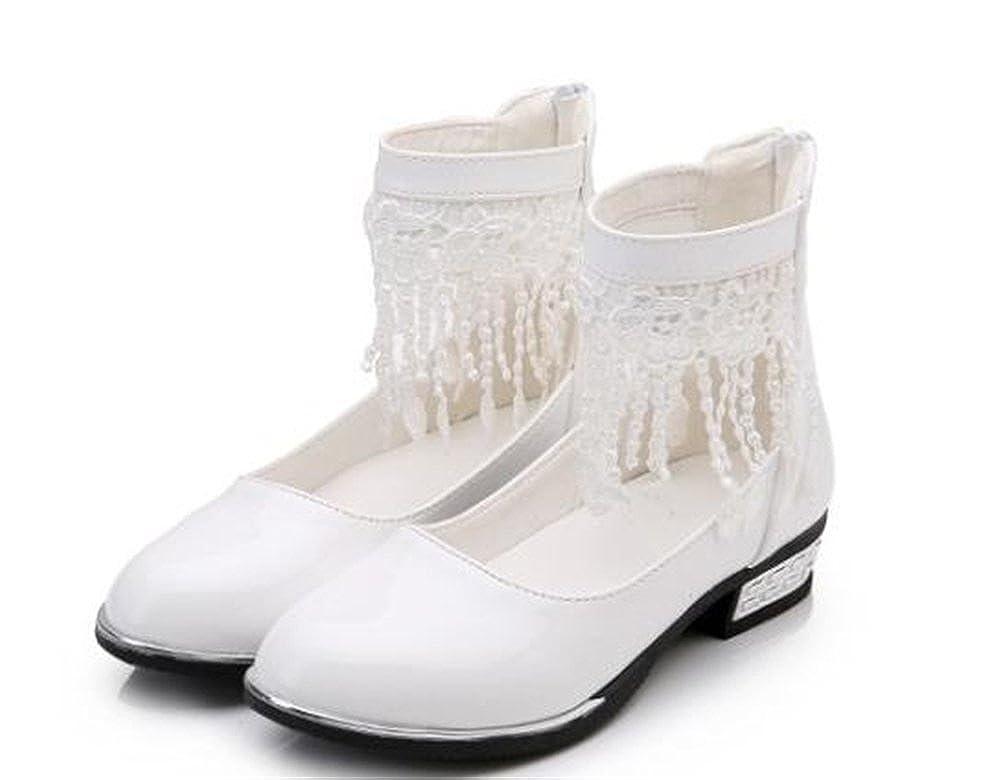 SUNNY Store Girls Kids Mary Jane Casual Slip On Ballerina Flat