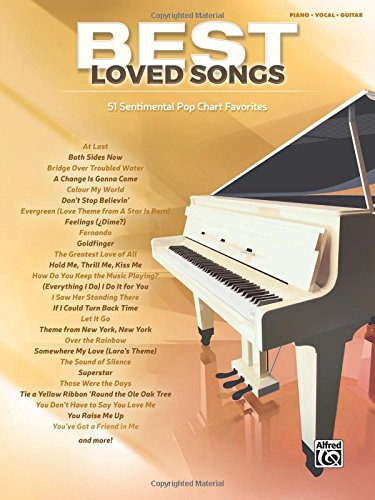(Best Loved Songs: 51 Sentimental Pop Chart Favorites (Piano/Vocal/Guitar) (Best Songs))