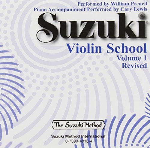 By William Preucil Suzuki Violin School, Vol. 1 (Revised) [Audio CD]