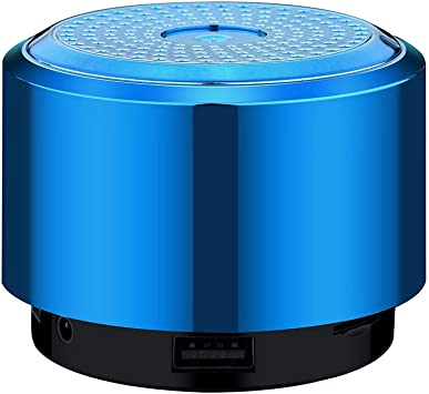 Mini Bluetooth Speaker USB LED Light Wireless Portable Music Small Box Subwoofer
