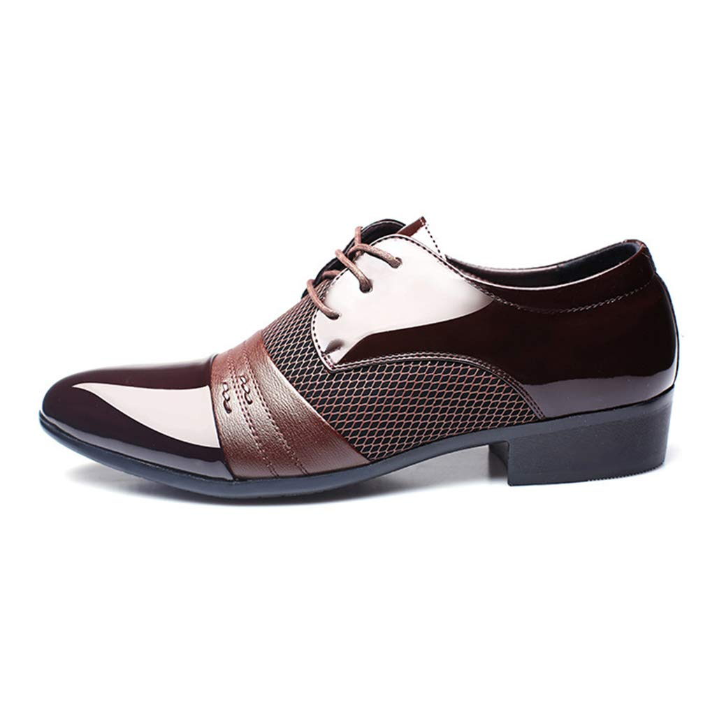 Mens Business Dress Shoes Pointed Toe Lace up Comfortable Oxford Sheos by Phil Betty (Image #1)