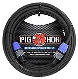 Pig Hog PHSC50SPK 14 Gauge Speaker Cable Speakon to Speakon, 50 ft