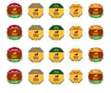 bob marley coffee k cups - Marley Coffee K Cup Variety Bundle - 5 Different Flavors (20 Count) Featuring One Love, Buffalo Soldier, Mystic Morning, Catch A Fire, and Get Up, Stand Up