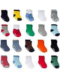 Envy Infants Crew Socks 10 Pack size 12-24 Months