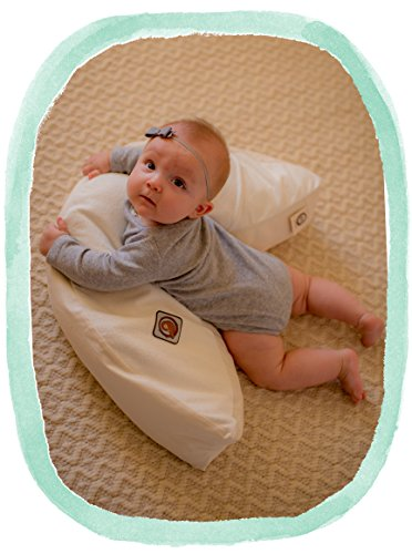 The Nesting Pillow - Organic Nursing Pillow with Washable Slip Cover by Blessed Nest (Image #8)