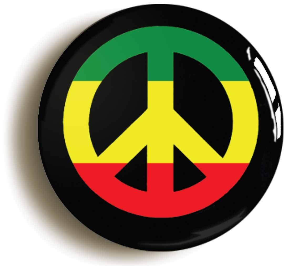 Amazon rasta peace cnd symbol rastafarian button pin size amazon rasta peace cnd symbol rastafarian button pin size 1inch diameter reggae toys games biocorpaavc Image collections
