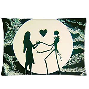 Jack and Sally Love Pillowcases 20x26 Inch