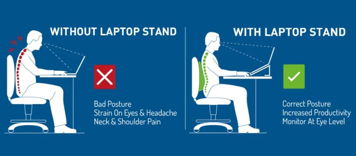 Laptop Stand Posture