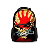 REFLEXS Men & Women Fashion Rucksack - Skull Tattoo Drawstring Tropical Print, Water Resistant Bag for Hiking Climbing Travel