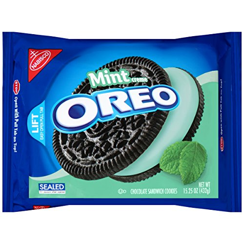 Oreo Chocolate Sandwich Cookies, Mint Creme