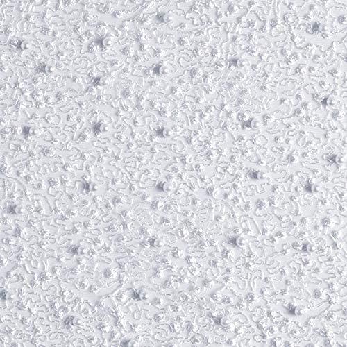 Fabulous Fabrics Encaje de Tul Bordado de Perlas – Blanco ...
