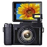 Digital Camera Vlogging Camera Full HD1080p 24.0MP 3.0 Inch Flip Screen Camera