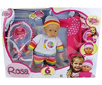 Lissi Doll 46 Cm con Baby per bambole discorsocustodia OPXiukZ