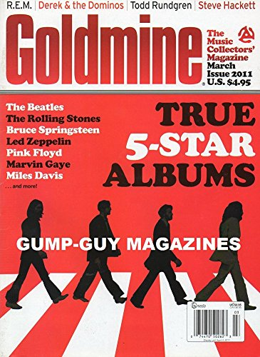 Goldmine Magazine (true 5 star albums, March 2011) - Johnny Cash Rolling Stone