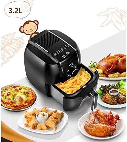 Full-automatique multi-fonction sans huile électrique intelligent Fried Chicken Wings et frites machine DDLS