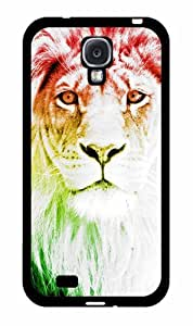 Trippy Lion 2-Piece Dual Layer Phone Case Back Cover Samsung Galaxy S4 I9500