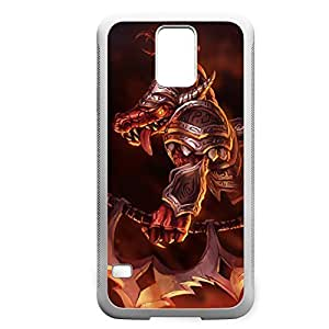 Renekton-005 League of Legends LoL case cover Samsung Galaxy Note2 N7100/N7102 - Rubber White