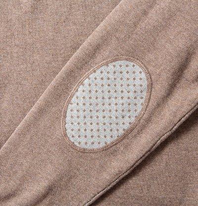 Daniel Hechter Herren Troyer Pullover Baumwollmix Sweater Meliert, Größe: XXL, Farbe: Braun