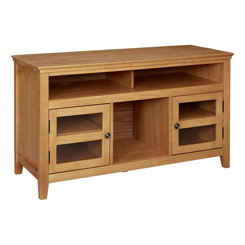 Ravenna Home Classic Solid Wood Media Center, 47.87''W, Rustic Honey Pine by Ravenna Home