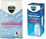 Vicks Advanced 22 Soothing Vapors Waterless Vaporizer With Vapo Pads