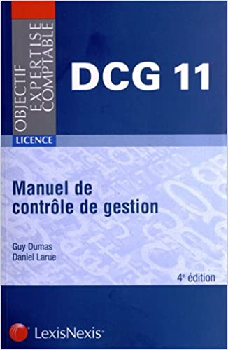 Téléchargement Manuel de contrôle de gestion DCG 11 pdf