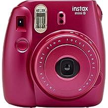 Fujifilm Instax Mini 8 Instant Film Camera (Pomegranate Red)