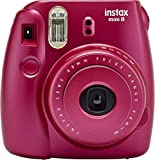 #7: Fujifilm Instax Mini 8 Instant Film Camera (Pomegranate Red)