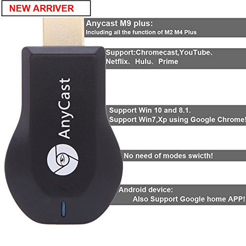 BDDXY M9 Plus Anycast Wifi Display 1080P HDMI Dongle Adapter - Import It All