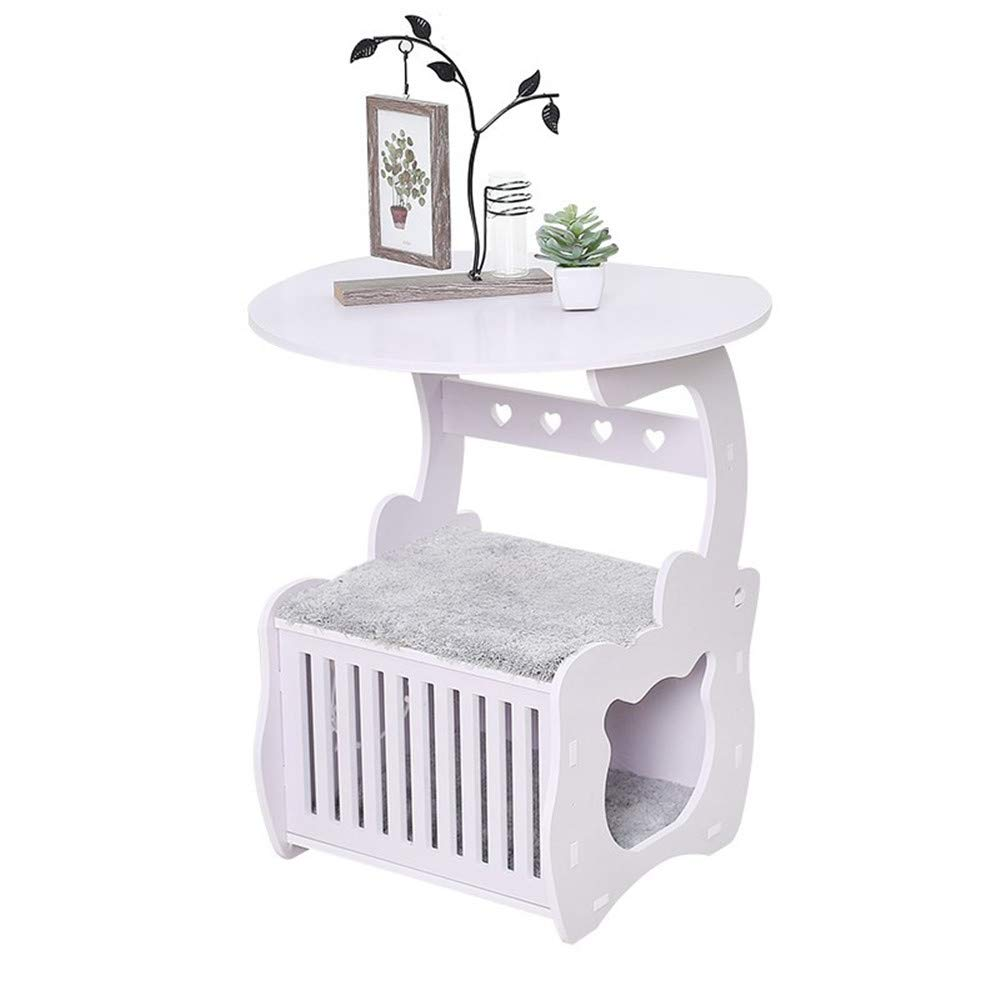 JFRI cat bed Cat litter cat climbing frame semi-closed four seasons universal bedside table round coffee table