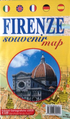 laminated-map-of-florence-firenze-souvenir-map-by-lozzi-english-spanish-french-italian-and-german-ed