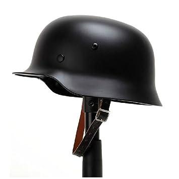 oarea WW2 alemán M35 acero casco Guerra Mundial 2 casco de seguridad con piel maletero,