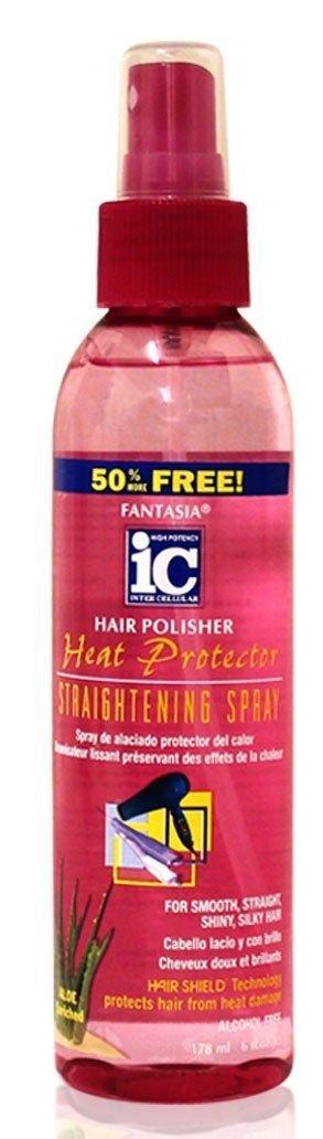 Fantasia Ic Hair Polisher Heat Protector Straightening Spray- 178ml